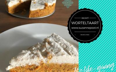 Worteltaart – vegan & raw